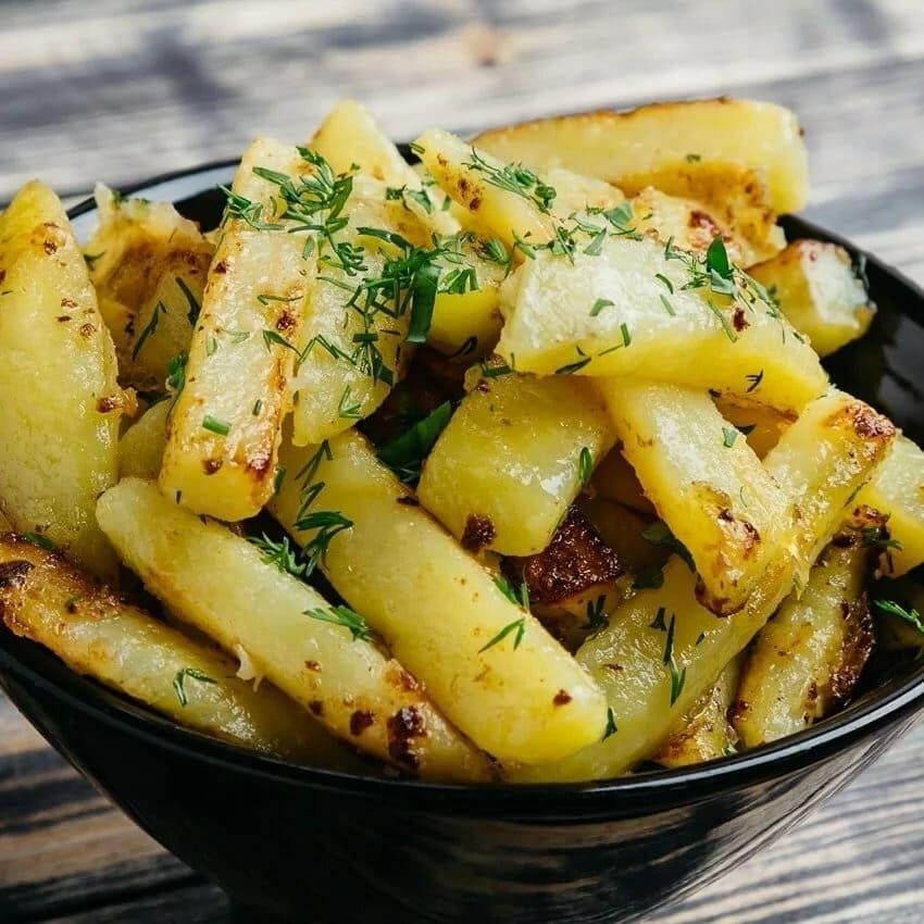 Королева Анна жареный картофель