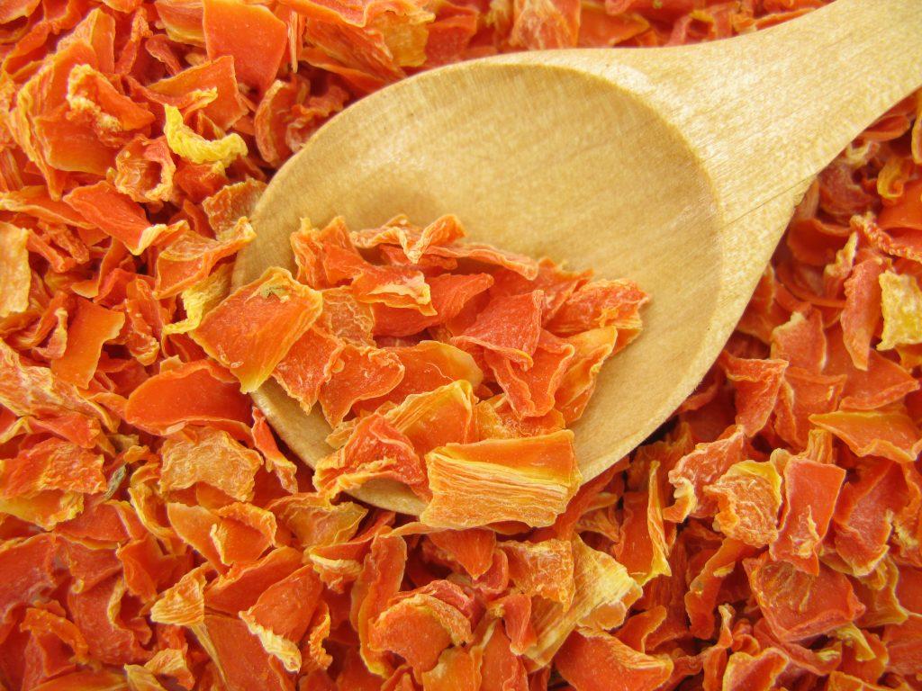 Сушка плодов моркови
