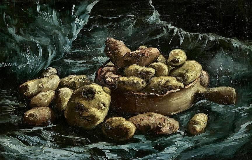Распространение картофеля во Франции