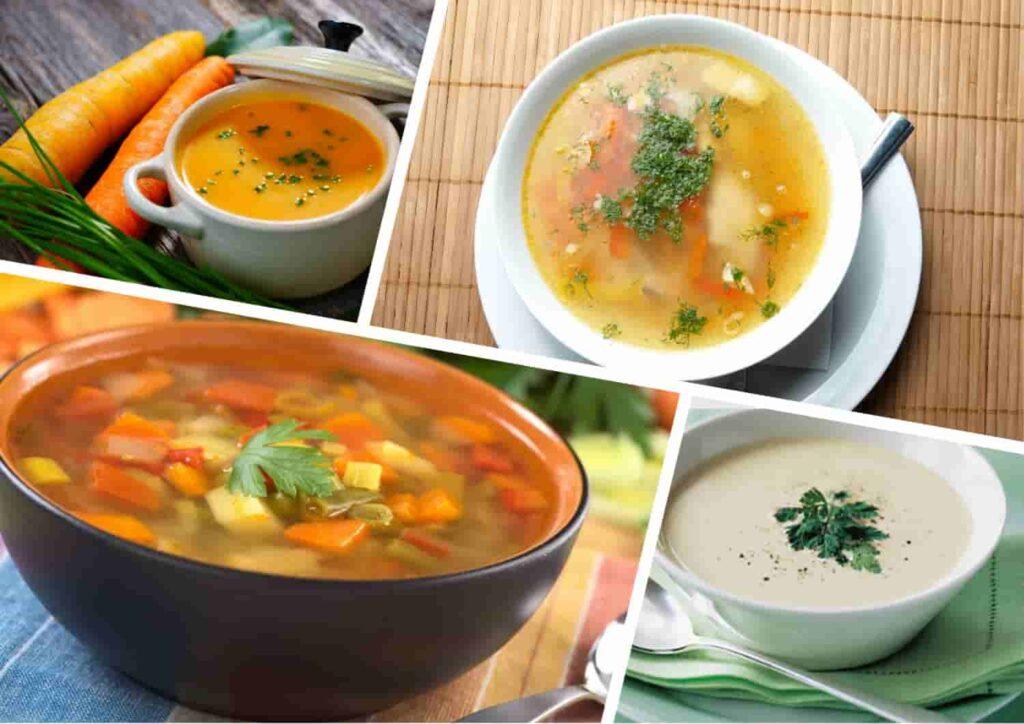 Готовим правильно овощной суп для похудения