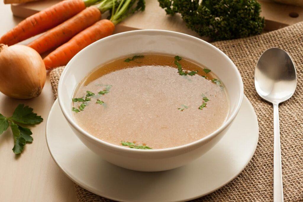 Особенности диеты на овощном супе