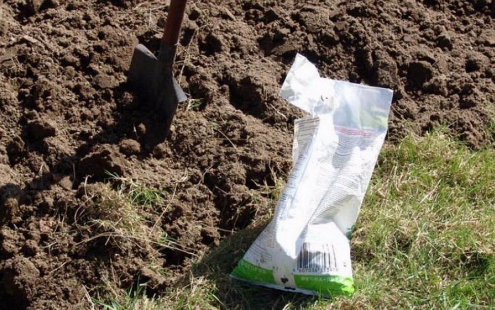Обработка почвы под посадку картофеля