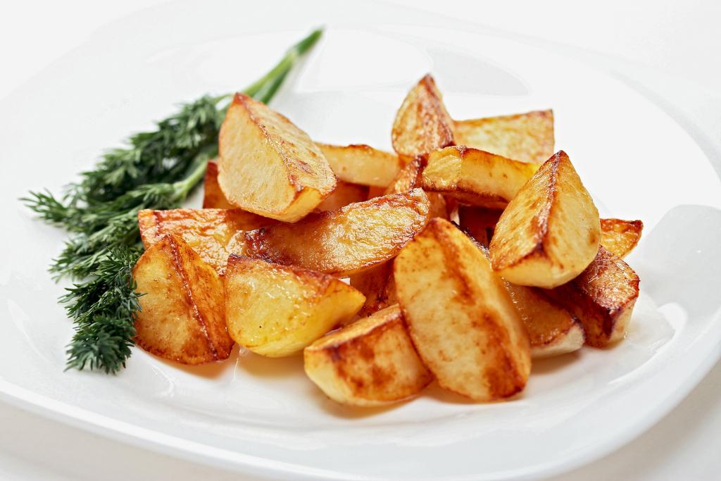 Жареный картофель Лилея