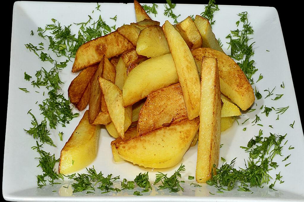 Жареный картофель Великан