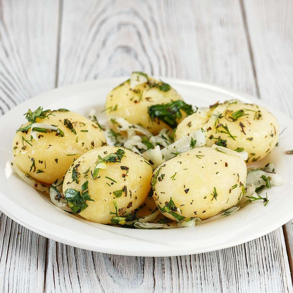 Журавинка вареный картофель